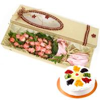 핑크레이디+케이크